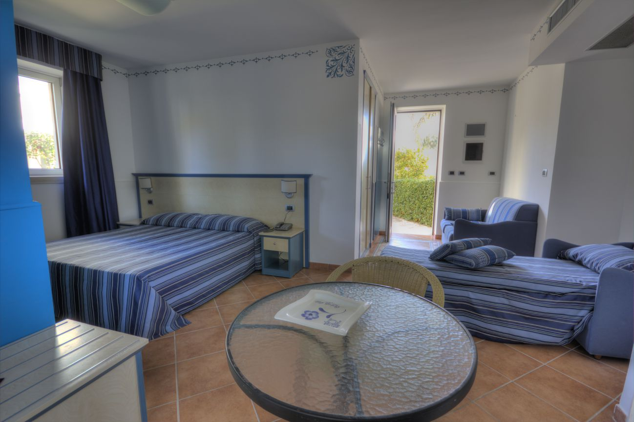 Triple room in villa